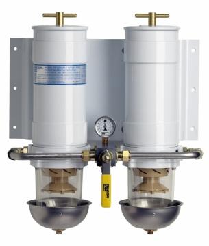 Racor türbin serisi mazot filtreleri. Yüksek kapasiteli su ayırma ve yakıt filtrasyonu için verimli çözüm.