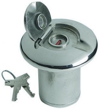 Yakıt Dolum ağızı. Kilitli. AISI 316 paslanmaz çelik. Rina sertifikalı.