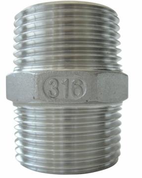 Nipel. AISI 316 Paslanmaz çelik.