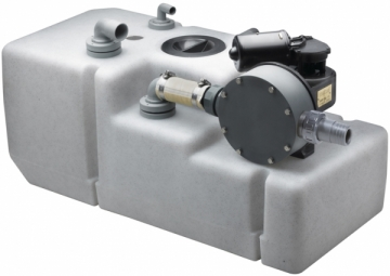 Vetus pis su tankı sistemi.