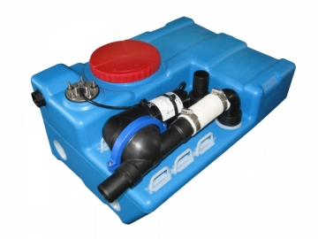 Pis su tankı sistemi.