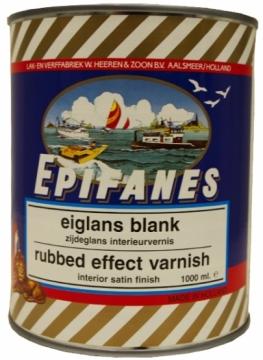 Epifanes saten vernik, 1 litre.