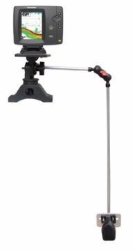 Balık bulucular için sağlam ve fonksiyonel portatif montaj aparatı