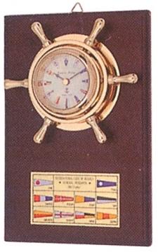 Flamalı Dümenli Saat CK243 En:15 cm Boy:22 cm