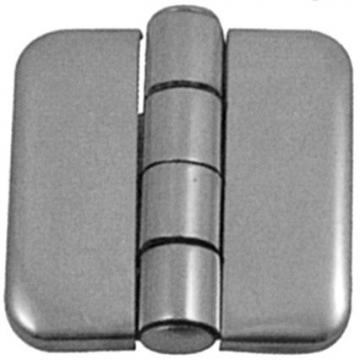 Kapaklı Menteşe 37 x 37 mm, Paslanmaz