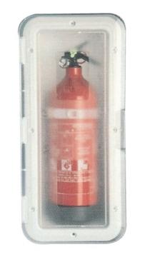 Yangın Tüpü Kutusu Şeffaf 1 Kg Tüp için