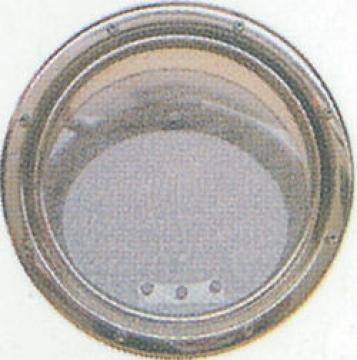 Krom Lumboz Yuvarlak Ø: 25 cm Montaj Ölçüsü: Ø: 21 cm Sineklik Dahil