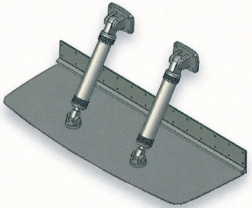 Bennett Flap 31 x 122 cm Çift Pistonlu Komple