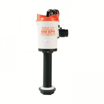 Seaflo Liver (Livar) Pompası 600 gph. Dikey 12 V