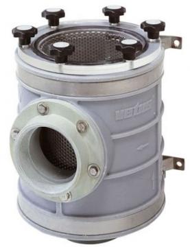 Vetus tip 1900 deniz suyu filtresi.
