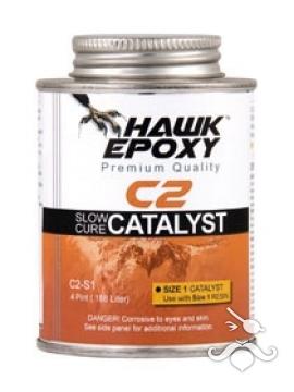 HAWK EPOXY C2-S1 YAVAŞ KATALİZÖR 0.188 LT