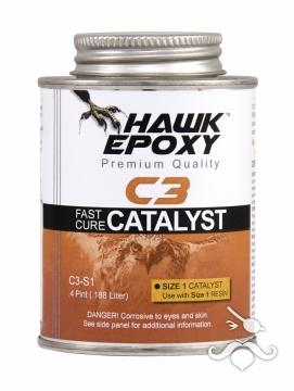 HAWK EPOXY C3-S1 HIZLI KATALİZÖR 0.188 LT