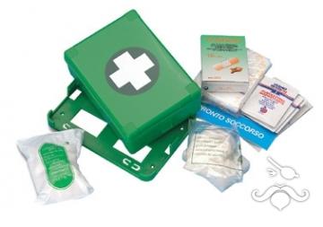 İlk yardım çantası, malzeme dahil