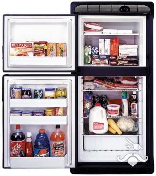 EV0061 buzdolabı ve dondurucu, çift kapılı