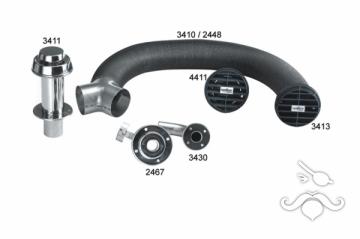 4411, 40 D modeli için hava emiş ızgarası