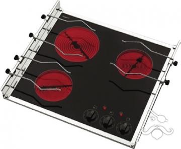 Techimpex. Üç gözlü elektrikli ocak