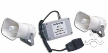 EMH-2 Mikrofonlu Çift Megafonlu