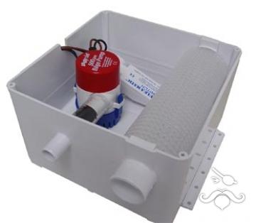 Rule® Duş Pompası 24V 500GPH 1893 Lt/saat