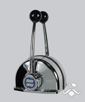 UltraFlex / UFLEX B 104 Çift Kol - Üstten - Krom