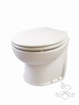 JABSCO DELUXE FLUSH ALÇAK MODEL, ARKASI DÜZ, ELEKTRİKLİ VANALI (SOLENOID VALVE) WC