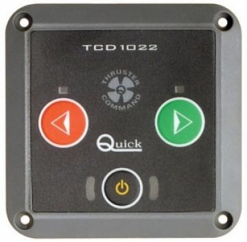 Quick baş pervanesi kontrol paneli. Switch'li