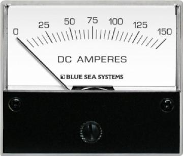 DC Ampermetre. 0-150 A.