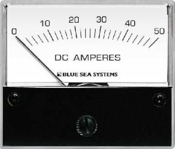 DC Ampermetre. 0-50 A.