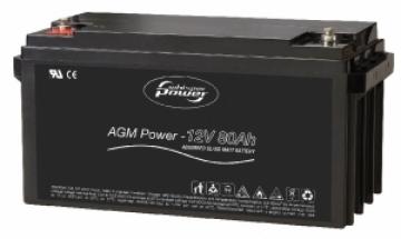 Whisper Power AGM Akü