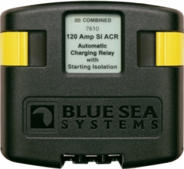 Blue Sea Systems otomatik şarj rölesi. 12/24V, 120A.
