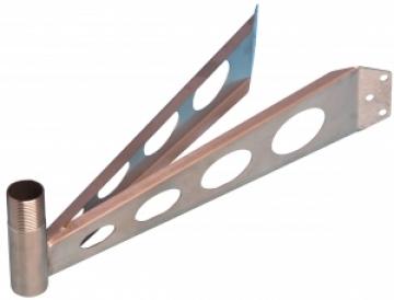 Echomax aktif radar hedef güçlendirici için direk montaj braketi.