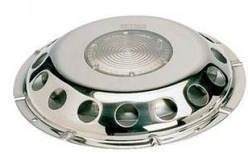 Vetus paslanmaz çelik havalandırma, şeffaf camlı. Model UFO-TR.