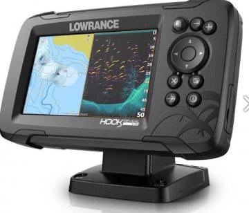 Lowrance Hook Reveal 5 50/200 HDI Chirp Balık Bulucu+Gps+Chartplotter Ekran