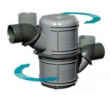 Waterlock. 40 mm iç çaplı egzoz hortumlarına uygundur. Su kapasitesi 4.5 litredir.