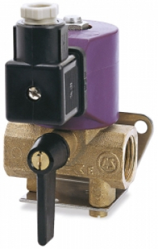 Quick Elektrik kontrollü vana. Manuel olarak da kullanılabilir. UNI EN 28846.