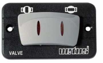 Vetus elektrik kontrollü vana için kontrol paneli. 12V.